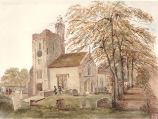 Alverstoke, St. Mary's<br />(© Portsmouth Museum & Records Service 1945/419/2)