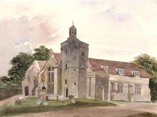 Bishop's Waltham, St. Peters<br />(© Portsmouth Museum & Records Service 1945/419/4)