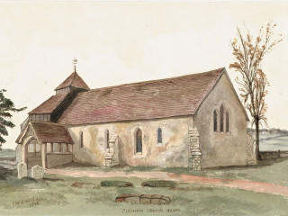 Colemore, St. Peter ad Vincula<br />(© Portsmouth Museum & Records Service 1945/419/13)