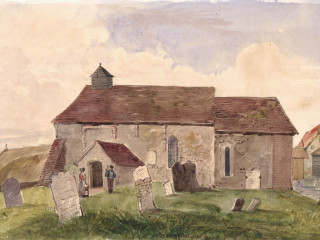Crofton, St. Edmund's<br />(© Portsmouth Museum & Records Service 1945/419/14)