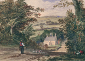 R.H.C. Ubsdell, Funtley St. Francis c1841 – Front