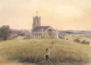 R.H.C. Ubsdell, Waterlooville, St. George's 1841 – Front