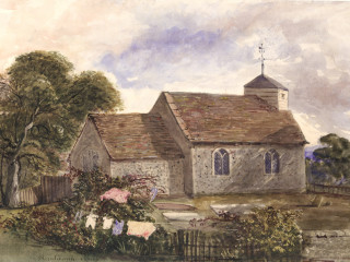 Blendworth, St. Giles<br />(© Portsmouth Museum & Records Service 1945/419/5)