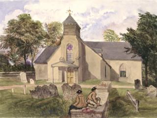 Bursledon, St. Paul's & St. Leonard's<br />(© Portsmouth Museum & Records Service 1945/419/8)